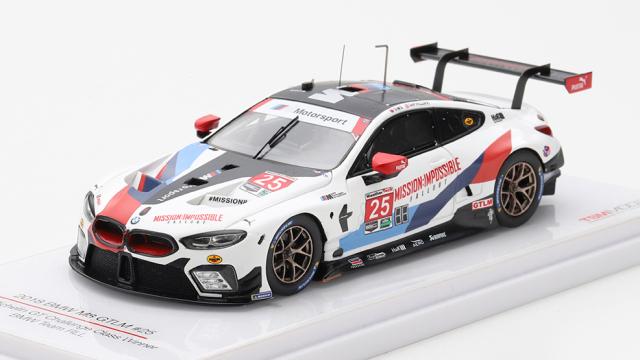 TSM MODEL 1/43 BMW M8 GTLM IMSA ミシュラン GT チャレンジ 2018 #25 クラス優勝車 BMW Team RLL