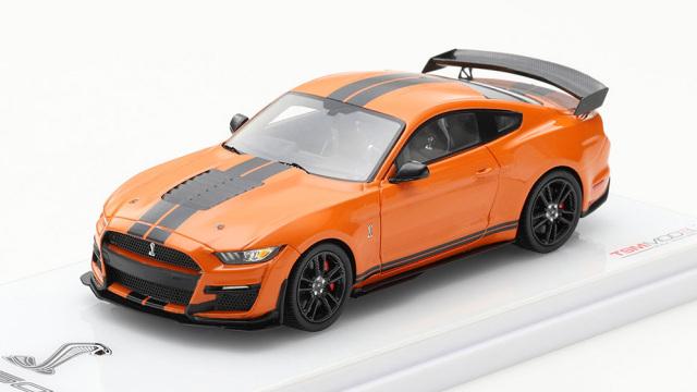 TSM MODEL 1/43 フォード マスタング シェルビー GT500 ツイスターオレンジ