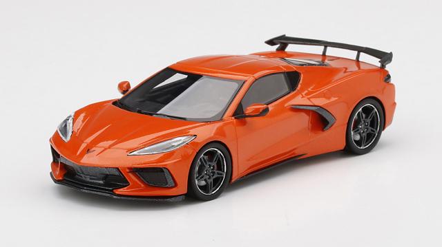 TSM MODEL 1/43 シボレー コルベット スティングレイ 2020 セブリング オレンジ ティントコート