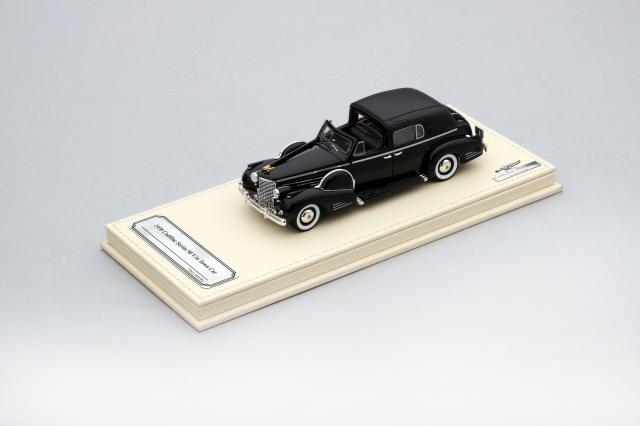 Collection d'Elegance 1/43 キャデラック 1938 シリーズ90 V16 タウンカー ブラック