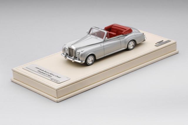Collection d'Elegance 1/43 ロールスロイス シルバークラウド 1959 ドロップヘッドクーペ シルバー