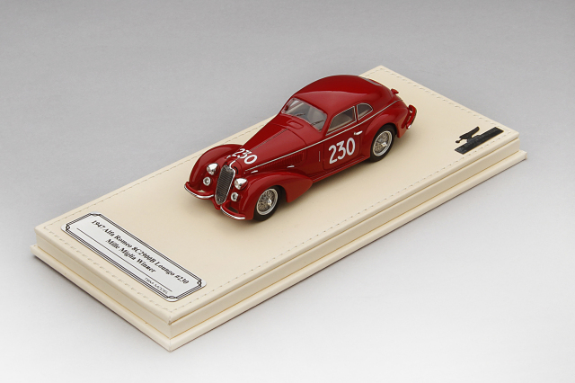 Collection d'Elegance 1/43 アルファロメオ 1938 8C 2900B ルンゴ #230 1947 ミッレミリア 優勝車