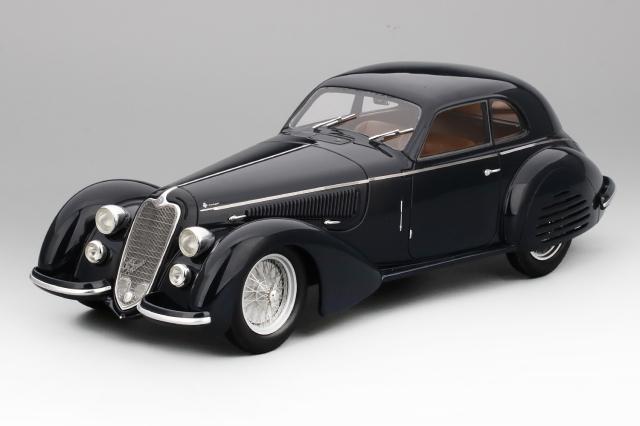 Collection d'Elegance 1/18 アルファロメオ 8C 2900B ルンゴ カロッツェリア ツーリング スーパーレジェーラ 1937 ダークブルー