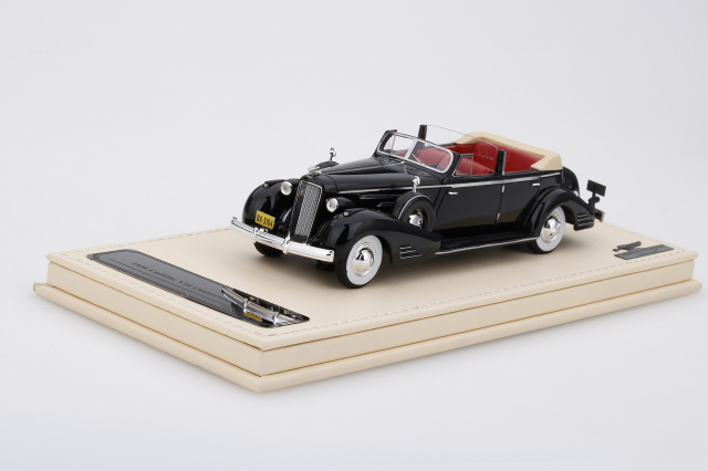 Collection d'Elegance 1/43 キャデラック V16 コンバーチブル セダン 1936 ブラック