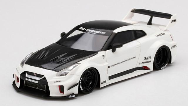TSM MODEL 1/43 LB-Silhouette WORKS GT Nissan 35GT-RR バージョン1 ホワイト