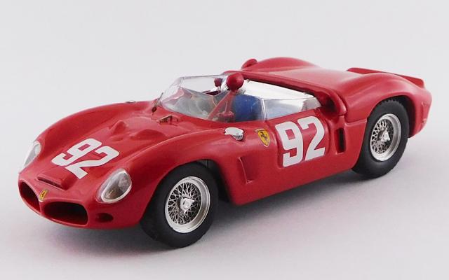 ART MODEL 1/43 フェラーリ ディーノ 246 SP ニュルブルクリンク1000km 1962 #92 Hill/Gendebien シャーシNo.0790 優勝車