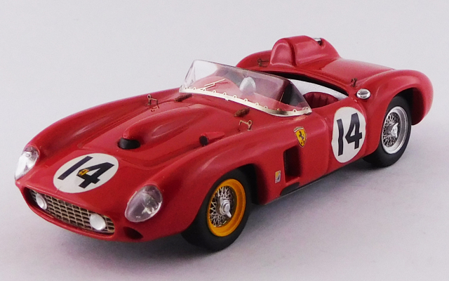 ART MODEL 1/43 フェラーリ 290 MM セブリング12時間 1957 #14 Von Trips/Hill
