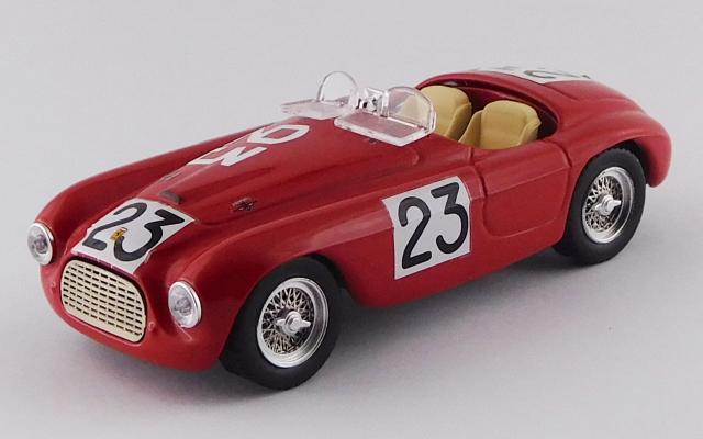 "ART MODEL 1/43 フェラーリ 166 MM バルケッタ ル・マン24時間 1949 #23 Lucas/""Helde"" シャーシNo.0010"