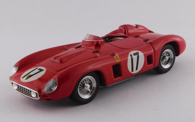 ART MODEL 1/43 フェラーリ 860 モンツァ セブリング12時間 1956 #17 Fangio/Castellotti  シャーシNo.0604 優勝車