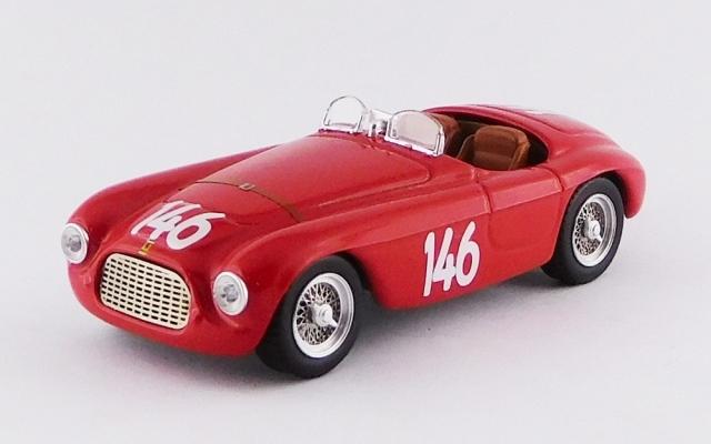 ART MODEL 1/43 フェラーリ 166 MM バルケッタ ドロミテゴールドカップレース 1950 #146 G.Marzotto シャーシNo.0034 優勝車