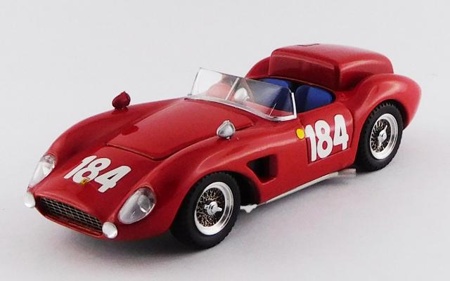ART MODEL 1/43 フェラーリ 500 TRC タルガ フローリオ 1965 #184 Tagliavia/Semilia シャーシNo.0670