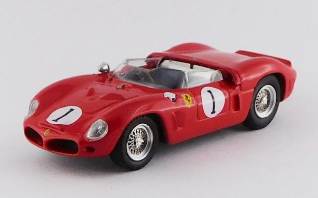 ART MODEL 1/43 フェラーリ 246 SP デイトナ3時間 1962 #1 Hill/Rodriguez シャーシNo.0796 RR:2nd