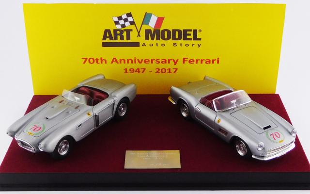 ART MODEL 1/43 フェラーリ70周年記念セット 1947-2014 フェラーリ 340 メキシコ スパイダー & フェラーリ 250 カリフォルニア 限定70個