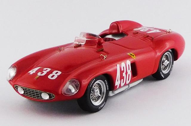 ART MODEL 1/43 フェラーリ 118 LM ジロ・ディ・シチリア 1955 #438 P.Taruffi シャーシNo.0484 優勝車