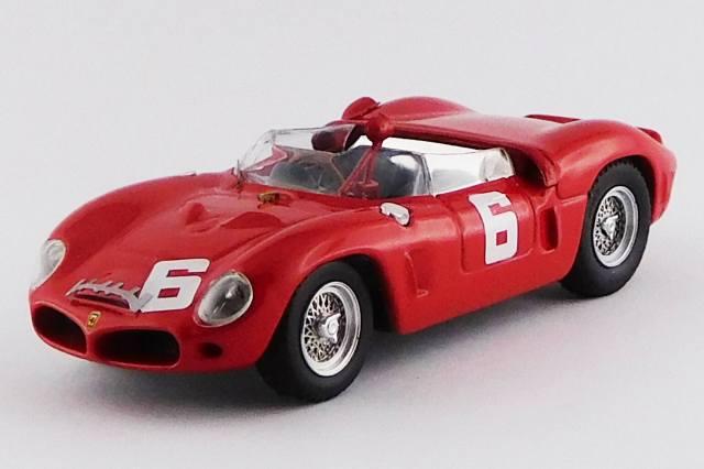 ART MODEL 1/43 フェラーリ 246 DINO SP ガーズトロフィー ブランズハッチ 1962 #6 M.Parkes シャーシNo.0790 優勝車
