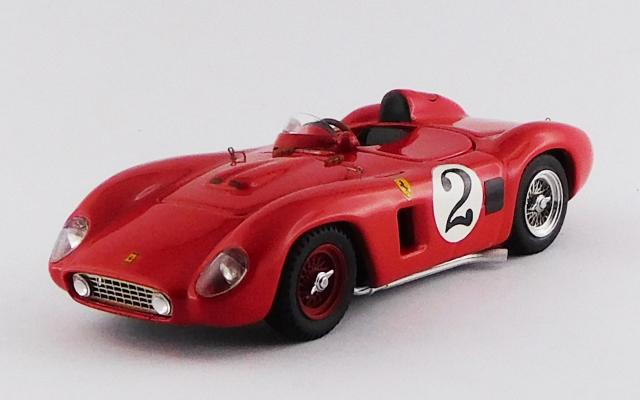 ART MODEL 1/43 フェラーリ 500 TR ナッソー・トロフィー レース 1956 #2 Masten Gregory シャーシNo.0652 R.R.2nd
