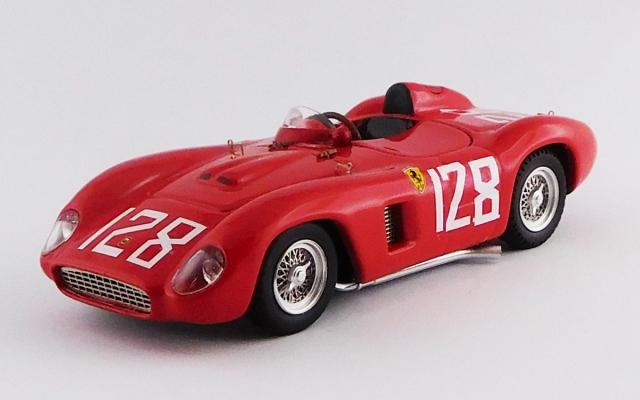 ART MODEL 1/43 フェラーリ 500 TR Brynfan Tyddyn ロードレース 1956 #128 Carrol Shelby シャーシNo.0614 優勝車