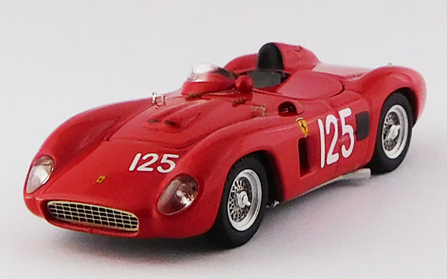 ART MODEL 1/43 フェラーリ 500 TR SCCA ラクナ セカ 1957 #125 P.Lovely  シャーシNo.0650 優勝車