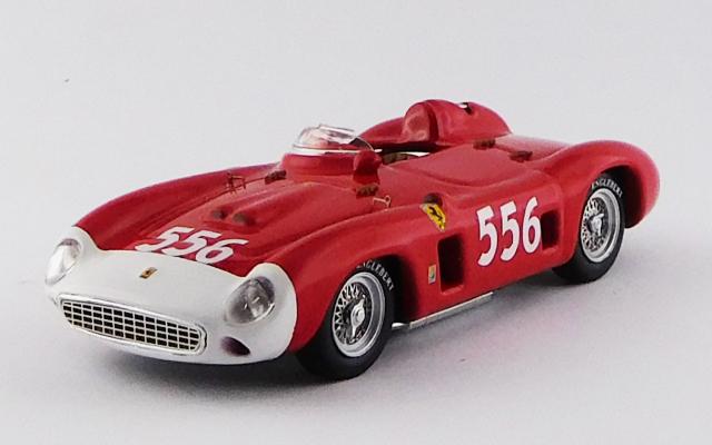 ART MODEL 1/43 フェラーリ 860 モンツァ ミッレミリア 1956 #556 Luigi Musso シャーシNo.0602 R.R.3rd