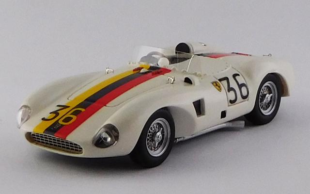 ART MODEL 1/43 フェラーリ 625 LM ヴェネズエラGP 1956 #36 Piero Drogo シャーシNo.0637 R.R.8th (レジン)