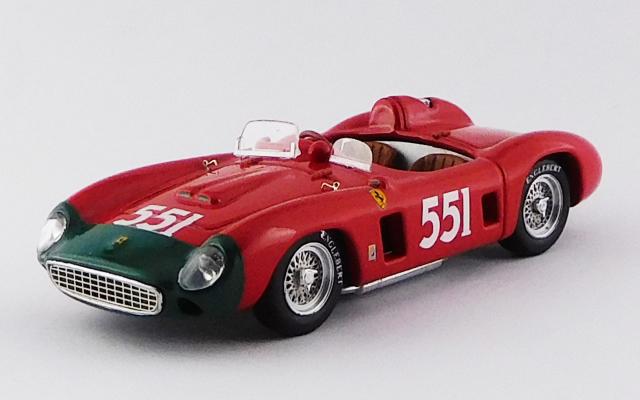 ART MODEL 1/43 フェラーリ 860 モンツァ ミッレミリア 1956 #551 Collins / Klementaski シャーシNo.0628 R.R.2nd.