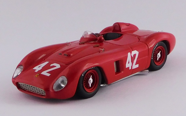 ART MODEL 1/43 フェラーリ 500 TR キューバGP 1957 #42 Masten Gregory シャーシNo.0652 R.R.8th