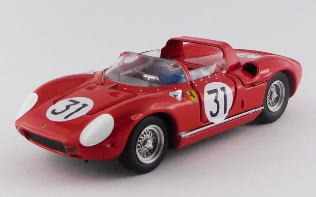 ART MODEL 1/43 フェラーリ 250 P セブリング12時間 1963 #31 Mairesse/Vaccarella/Bandini シャーシNo.0812 R.R.2nd