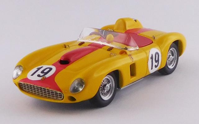 ART MODEL 1/43 フェラーリ 290 MM ポルトガルGP/モンサント 1957 #19 A. de Changy シャーシNo.0606 R.R.4th