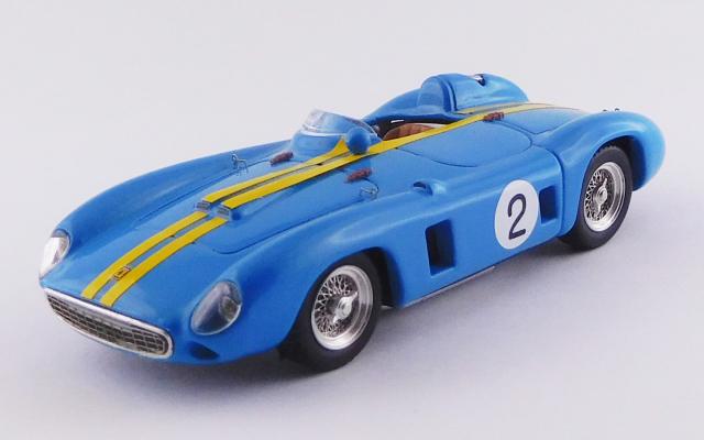 ART MODEL 1/43 フェラーリ 860 モンツァ ベネズエラGP 1956 #2 Juan Manuel Fangio シャーシNo.0602 R.R.2nd