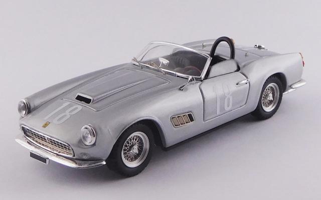 ART MODEL 1/43 フェラーリ 250 カリフォルニア LWB ナッソー メモリアル トロフィーレース 1959 #18 Bob Grossman シャーシNo.1451 優勝車