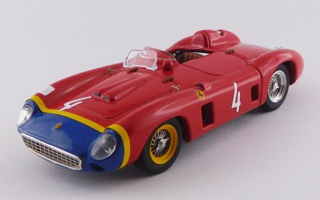 ART MODEL 1/43 フェラーリ 860 モンツァ ニュルブルクリンク1000km 1956 #4 Hill/de Portago/Gendebien シャーシNo.0626 - 3位