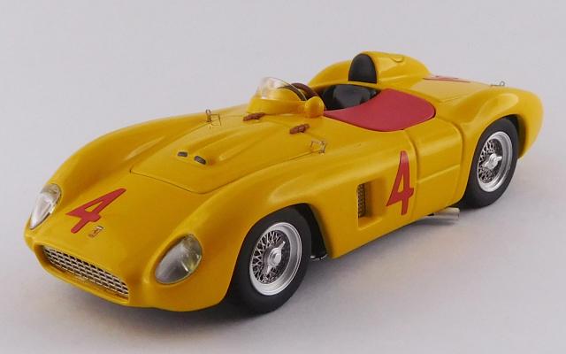 ART MODEL 1/43 フェラーリ 500 TR ローマGP 1956 #4 Paul Frère シャーシNo.0618 - 3位