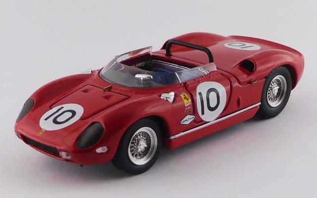 ART MODEL 1/43 フェラーリ 250P ナッソーカップ 1963 #10 Pedro Rodriguez シャーシNo.0810 2位、S3.0優勝車