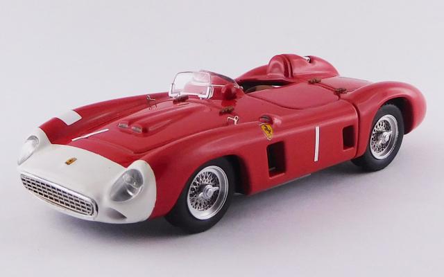 ART MODEL 1/43 フェラーリ 860 モンツァ ニュルブルクリンク1000km 1956 #1 Fangio/Castellotti  シャーシNo.0602 2位