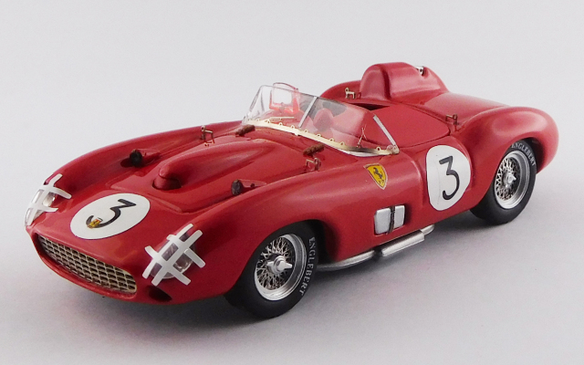 ART MODEL 1/43 フェラーリ 335 S スウェーデンG.P. 1957  #3 Hawthorn/Musso シャーシNo.0674 4位