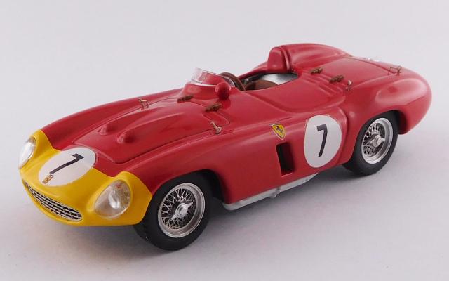 ART MODEL 1/43 フェラーリ 857 S パリ/マンスレリー 1000km 1956 #7 De Pordago / Hill シャーシNo.0578 5位