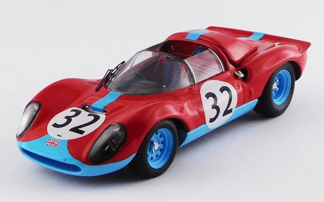 ART MODEL 1/43 フェラーリ ディーノ 246 S ブランズハッチGP 1966 #32 Mike Parkes 6位/クラスS2.0 優勝