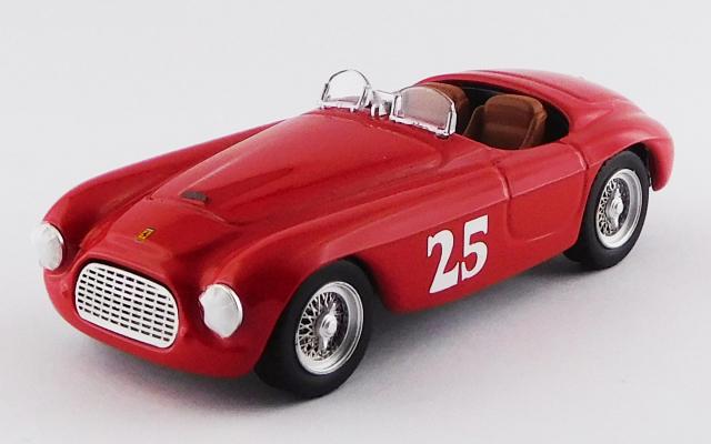 ART MODEL 1/43 フェラーリ 166 ツーリング バルケッタ パームスプリングス 1951 #25 M.Lewis 優勝車