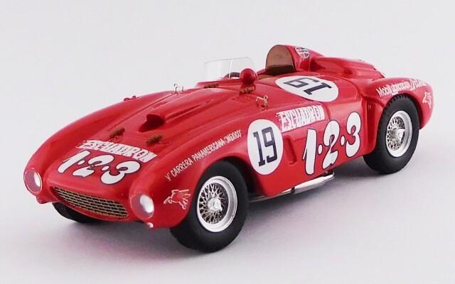 ART MODEL 1/43 フェラーリ 375 プラス カレラ パンアメリカーナ 1954#19 U.Maglioli シャーシNo.0392 優勝車 *レジン製