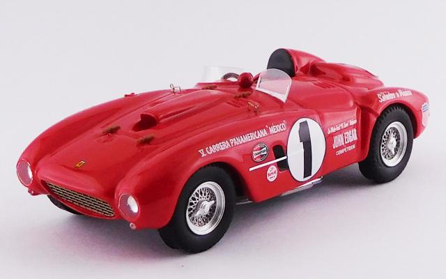 ART MODEL (アートモデル) 1/43 フェラーリ 375 プラス カレラ パンアメリカーナ 1954 #1 McAfee/Robinson シャーシNo.0396