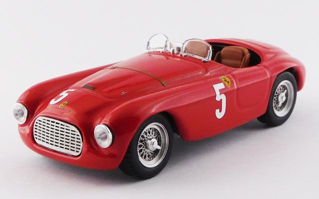 ART MODEL 1/43 フェラーリ 166 MM バルケッタ オートモービルクラブ フランスGP 1949 #5 Luigi Chinetti