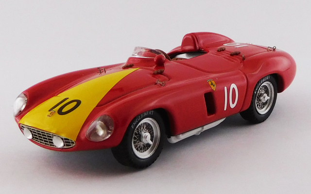 ART MODEL 1/43 フェラーリ 750 モンツァ ベネズエラGP 1955 #10 Alfonso de Portago #0496