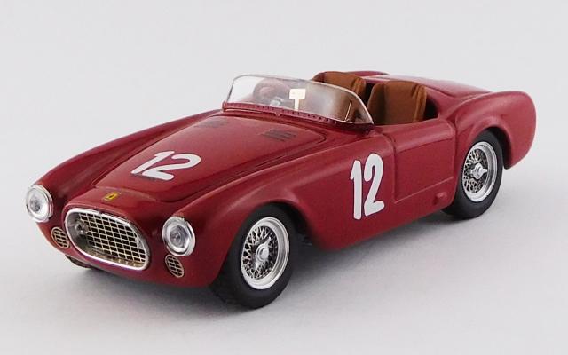 ART MODEL 1/43 フェラーリ 225S セニガリアサーキット 1952 #12 Paolo Marzotto シャーシNo.0172 優勝車