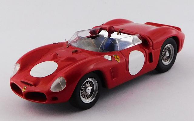 ART MODEL 1/43 フェラーリ ディーノ 246 SP テストカー 1961 ファンタッツィ シャーシNo.0796