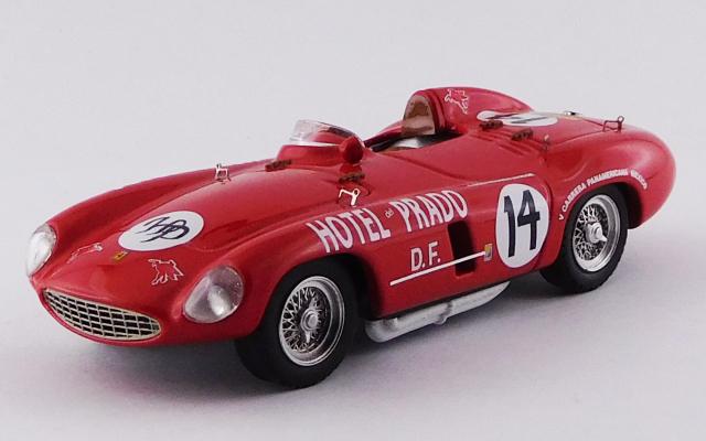 ART MODEL 1/43 フェラーリ 750 モンツァ カレラ パンアメリカーナ 1954 #14 Bracco/Livocchi シャーシNo.0470