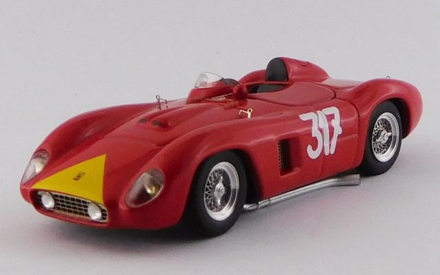ART MODEL 1/43 フェラーリ 500 TR ジロ・ディ・シチリア 1956 #317 G.Starrabba シャーシNo.0610