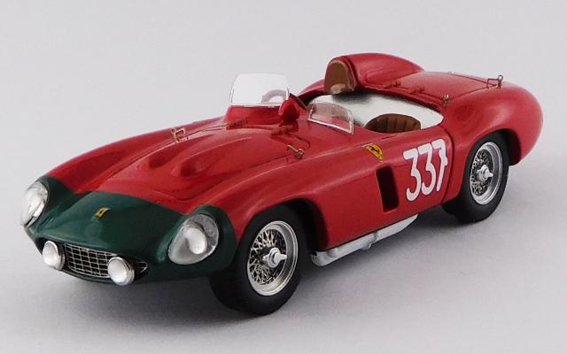 ART MODEL 1/43 フェラーリ 857 S ジロ・ディ・シチリア 1956 #337 Collins/Klementasky シャーシNo.0584 優勝車