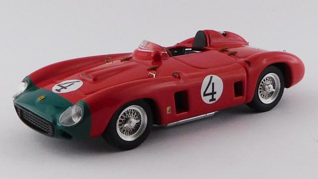 ART MODEL (アートモデル) 1/43 フェラーリ 860 モンツァ スウェーデンGP 1956 #4 Fangio/Castellotti シャーシNo.0628