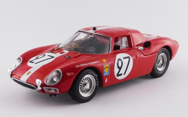 BEST MODEL 1/43 フェラーリ 250 LM ル・マン24時間 1965 #27 A.Boller/D.Spoerry 6位