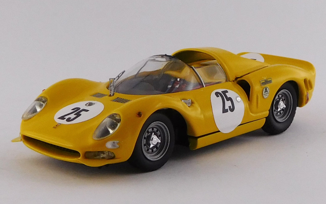 "BEST MODEL 1/43 フェラーリ 365 P2 デイトナ24時間 1966 #25 Bianchi/van Ophem/""Jean Beurlys"""